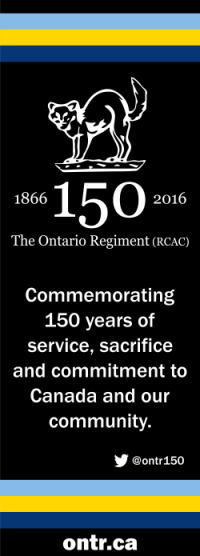 Ontario Regiment - 150th Anniversary, Sep 2016