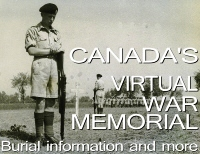 Canada's Virtual War Memorial (Veterans Affairs)